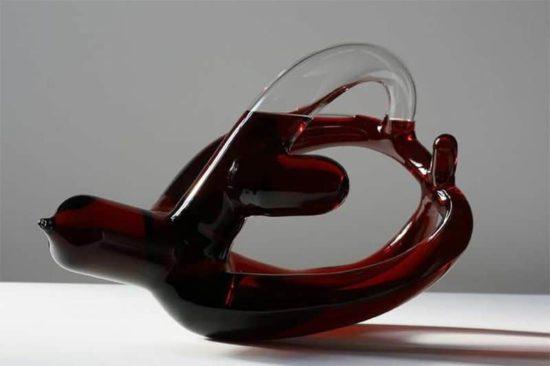 ¿Qué verästelte Weinkaraffen