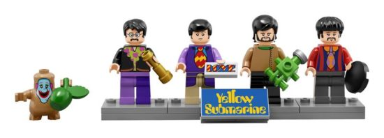 Yellow Submarine de Lego