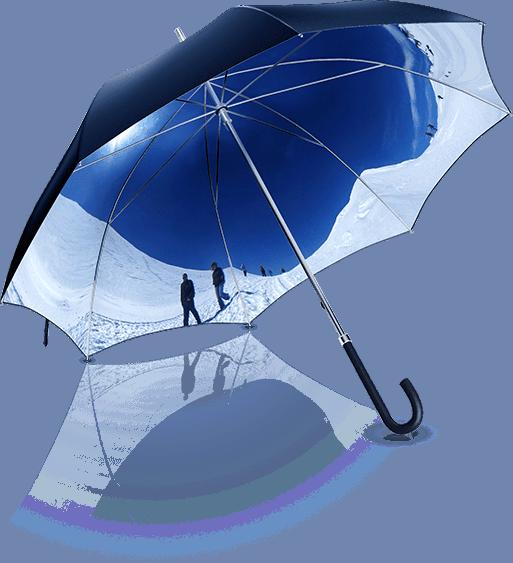 Panorella: Der individuelle Regenschirm mit Weitsicht