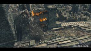 Shin Godzilla Destruction Reel: Godzilla Tokio Hochhaus-Zerstörungs-Montage