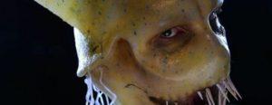 Massgefertigte Squid Man-Maske