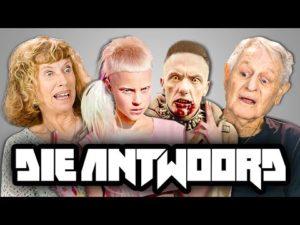 """Wie Eltern auf Videos von """"Die Antwoord"""" RESPONDER"""