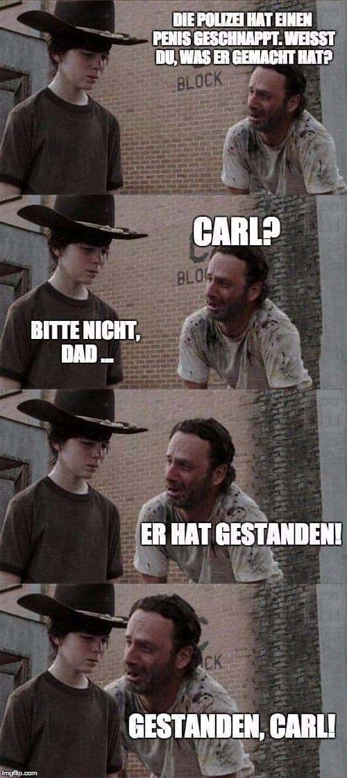 The Walking Dead: Toen Rick Grimes rausholt de woordspeling