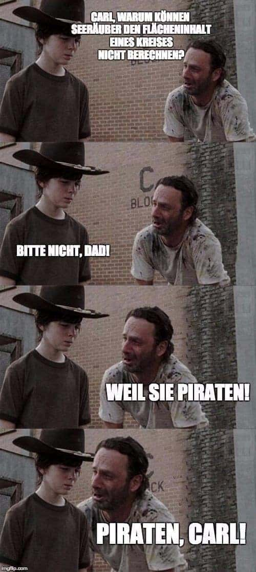 The Walking Dead: Når Rick Grimes rausholt ordspill