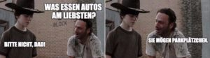 The Walking Dead: When Rick Grimes rausholt the pun