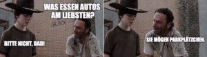 The Walking Dead: Quando Rick Grimes rausholt o trocadilho