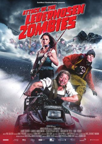 Attack of the Zombies Lederhosen - Poster