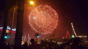 Das grösste Feuerwerk der Welt