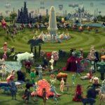 """""""Dünyevi Zevkler Bahçesi"""" animasyonlu çağdaş Hieronymus Bosch"""