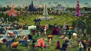 """""""Der Garten der Lüste"""" animasyonlu çağdaş Hieronymus Bosch"""