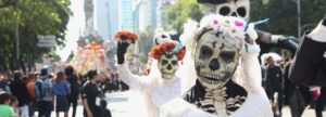 Dia De Los Muertos: Photos of the parade in Mexico City