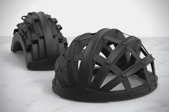 Fend: Der zusammenklappbare Fahrradhelm
