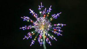 Feuerwerk Wettbewerb in Nagano Japan