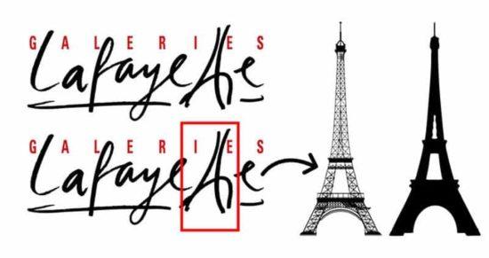 Doppeltes T im Titel zeigt den Eiffelturm