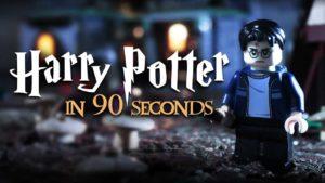 Harry Potter e a peça de Lego
