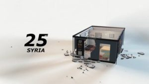 IKEA shows, as a family of ten lives in Syria