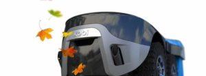 Kobi: gressklipper, Snøfreser og blåser i en robot