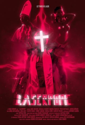 LASERPOPE - Poster