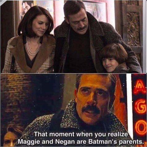 Der Moment wenn du realisierst, dass Maggie und Negan Batmans Eltern sind