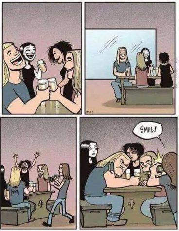 Wenn Metalheads dem Image entsprechen