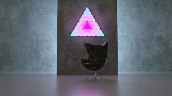 Nanoleaf Aurora: Licht-Dreiecke per App steuern