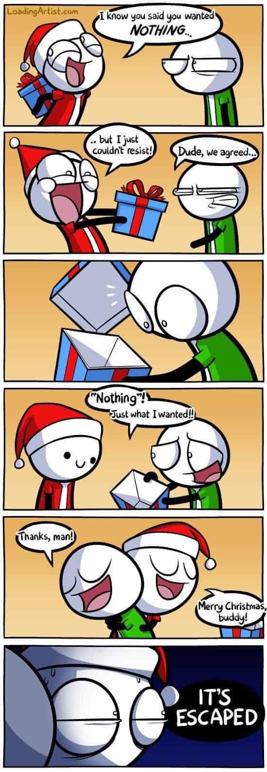 Ich weiss, du wolltest nichts zu Weihnachten...