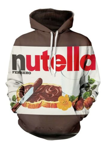 Nutella Hoodie-Dravens Tales from the Crypt