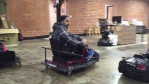 Razor Crazy Cart XL: The go-kart for the office