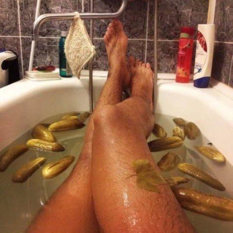 Stimmung heute: Saure Gurke Bad