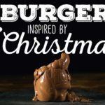 Sieben weihnachtliche Burger