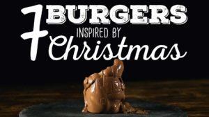 Seven Christmas Burger