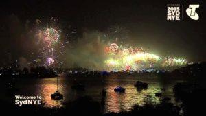 fuochi d'artificio di Capodanno 2016 Full-length da Sydney