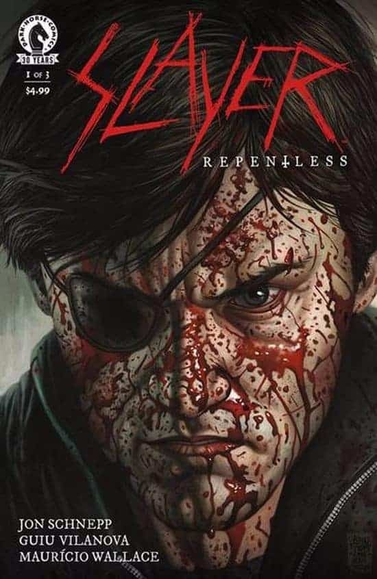 Slayer: Repentless - First comic published in January 2017
