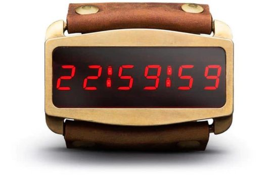 "Lifeclock One: A SmartWatch, wie sie Snake Plissken in ""Escape from New York"" had"