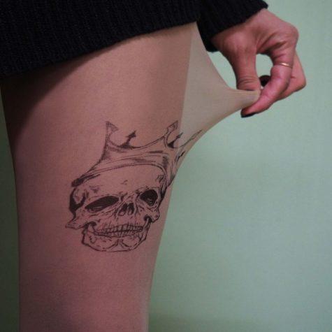 Tattoo Tights: Strumpfhosen mit Tattoos