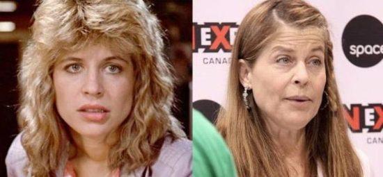 Linda Hamilton jest aktorką, grał Sary Connor. Jest nawet dziś wciąż można zobaczyć w filmach i produkcjach telewizyjnych i choć widać oznaki życia w twarz, ich piękno jest nadal istnieje.