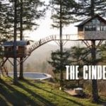 The Cinder Cone: A tree house with a bathtub and Skatebowl