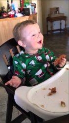 Prøv bacon for første gang i julen