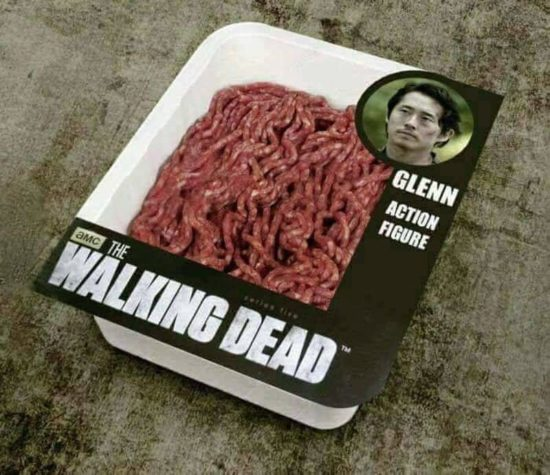 "New & quot; Walking Dead"" Glenn Ação-Figur!"