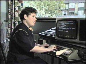Wie man in den 80er Jahren Mails verschickt hat