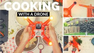 Como cozinhar o jantar de Ação de Graças com um drone