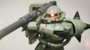 Zaku's Army Fight