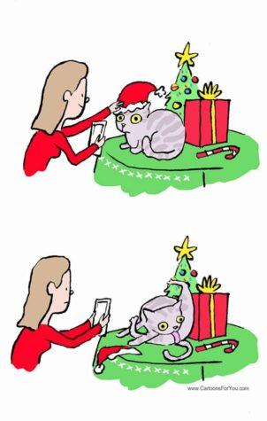 Chodzi o czas, pisania kartek świątecznych