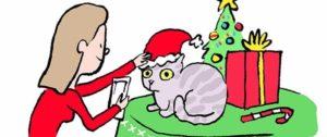 Es wird langsam Zeit, die Weihnachtskarten zu schreiben