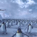 11'000 Pinguins vir contra 4'000 Santas para uma batalha sangrenta em