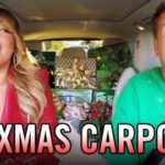 """All I Want for Christmas"" Carpool Karaoke mit Gwen Stefani den Red Hot Chili Peppers und vielen anderen mehr…"