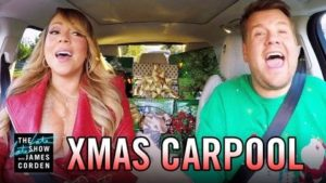 """All I Want for Christmas"" Carpool Karaoke mit Gwen Stefani den Red Hot Chili Peppers und vielen anderen mehr..."