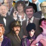 Alle 2016 verstorbenen Künstler auf einem Foto
