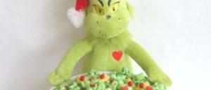 Boże Narodzenie Grinch Popcorn
