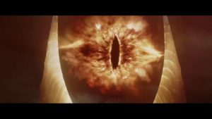 """Das """"Auge des Saurons"""" voor 5 Uur"""